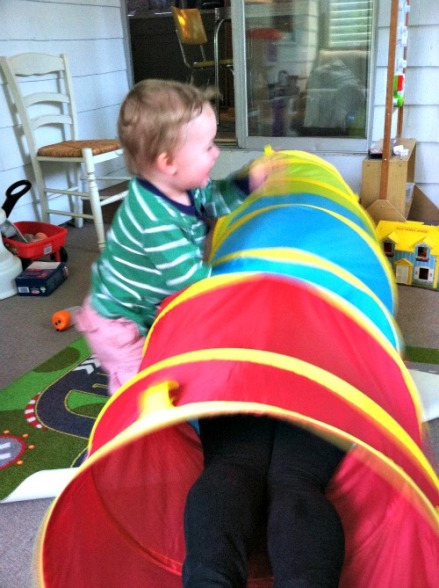 tunnel play